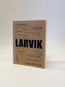 Bilde av Larviksboka stedsnavn